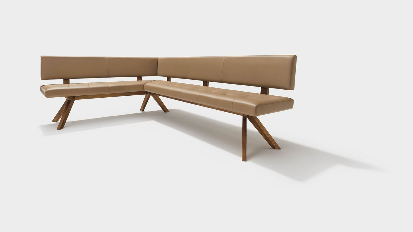 yps corner bench in leather