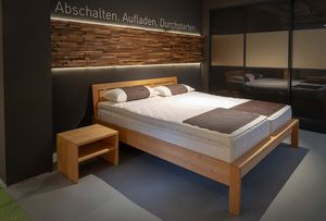 Matratzen bei TEAM 7 Hamburg City und das aos Schlafsystem