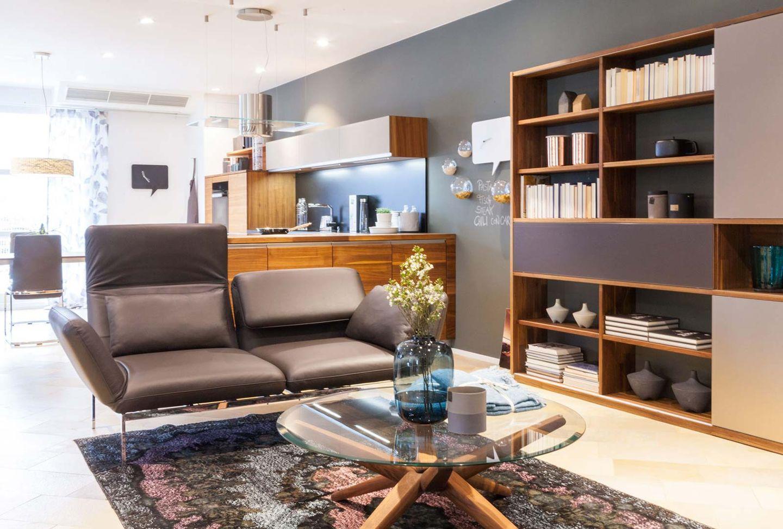 Wohnzimmermöbel cubus pure Wohnwand im TEAM 7 Store Wels