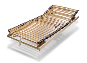 Classic slatted frame with adjustable head-and foot element