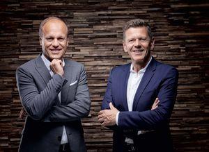 Hermann Pretzl et Georg Emprechtinger, directeurs de TEAM 7