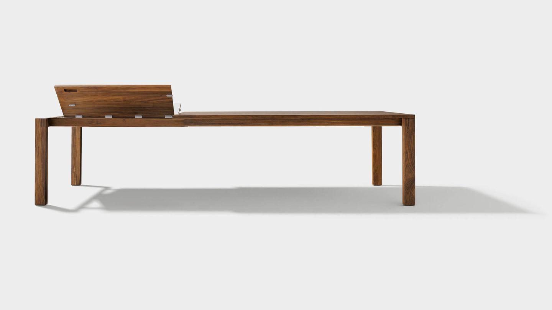 Tavolo allungabile magnum in legno naturale per zona pranzo