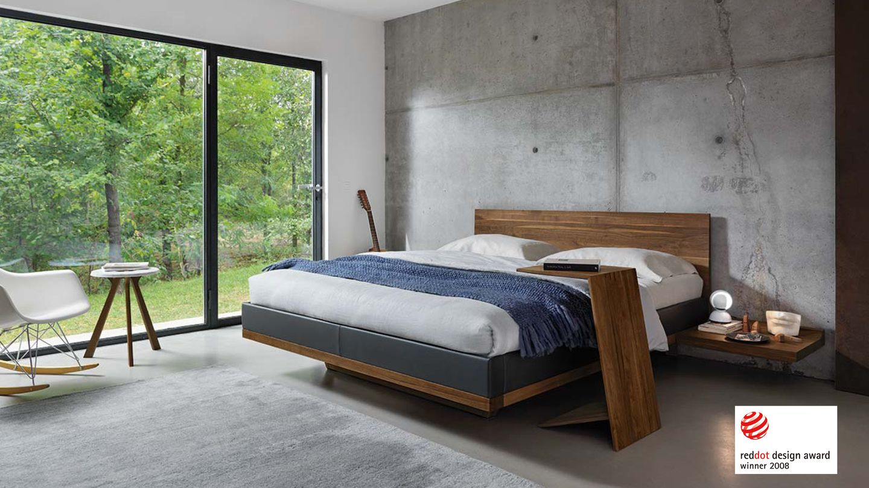Premio di design per il letto riletto di TEAM 7 - red dot award 2008