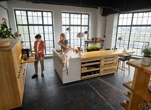 echt.zeit kitchen in oak from TEAM 7