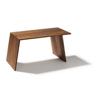 sidekick side table standing or lying down in walnut by TEAM 7