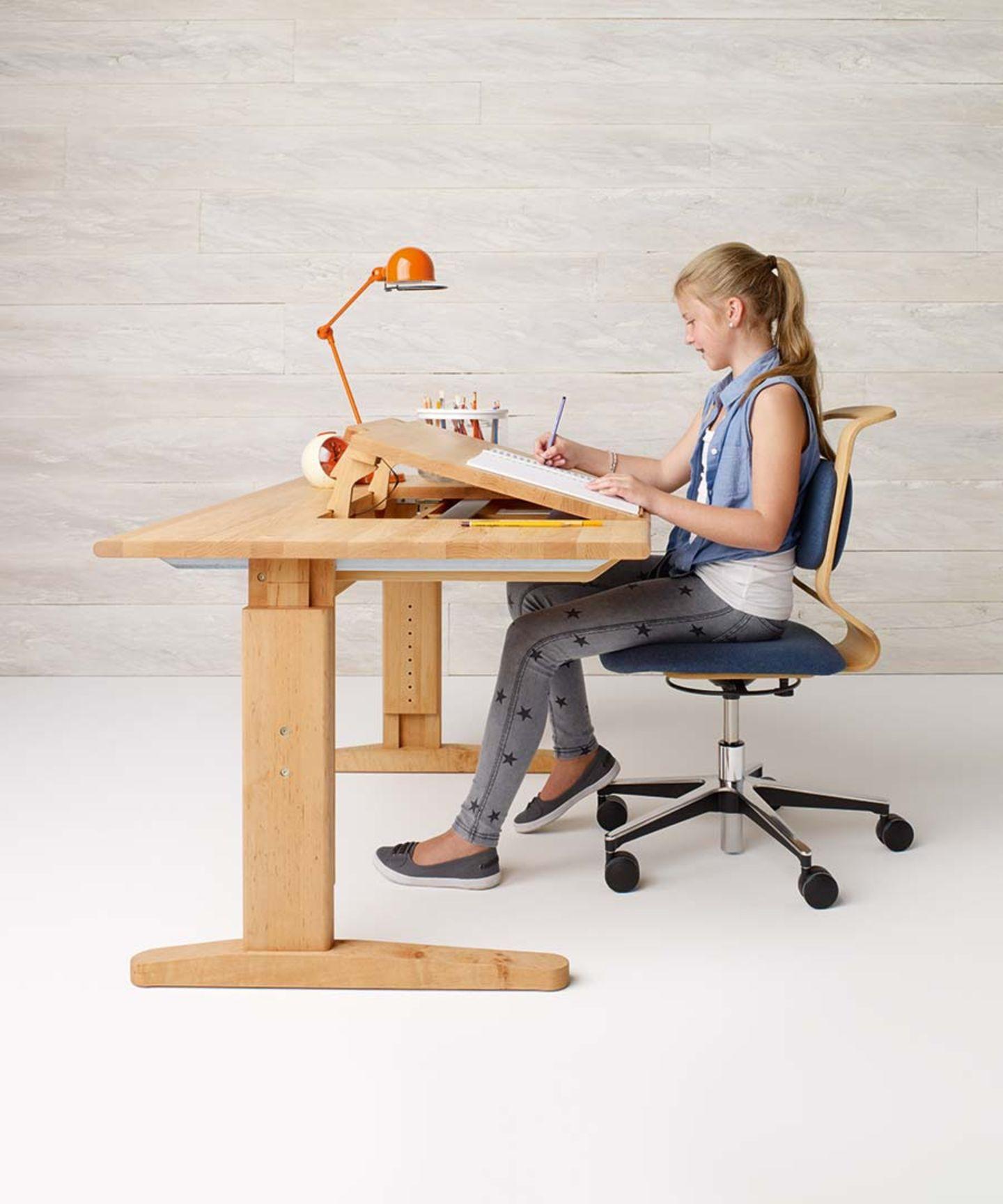 Chaises pivotantes mobile ergonomiques pour enfants et adolescents