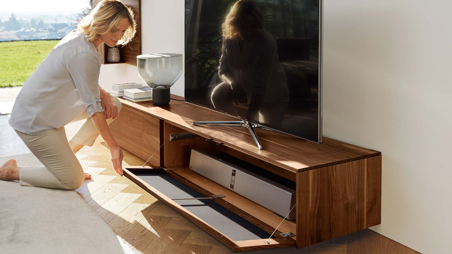 filigno home entertainment in walnut by TEAM 7