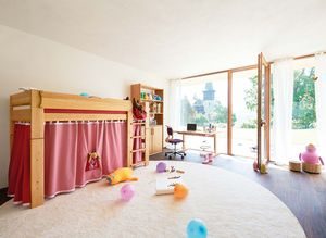 Children's room mobile product line pink