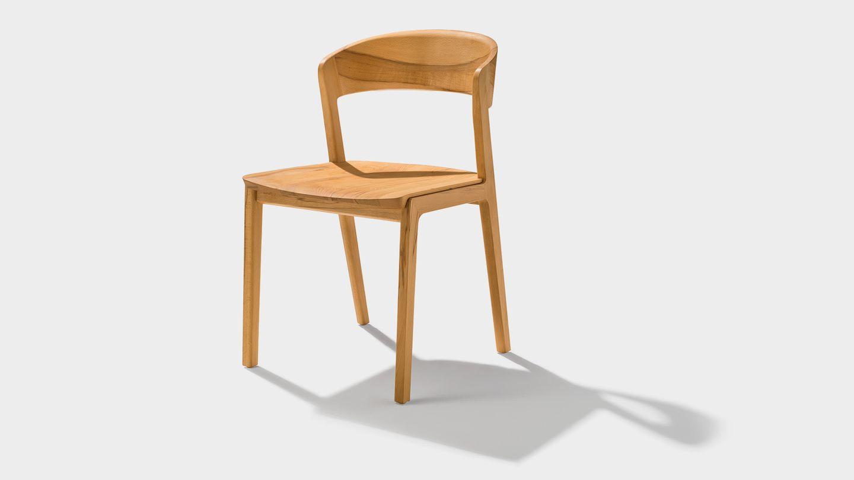 mylon chair in beech heartwood
