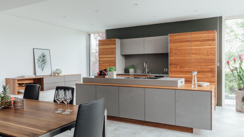 TEAM 7 filigno cucina in una casa privata