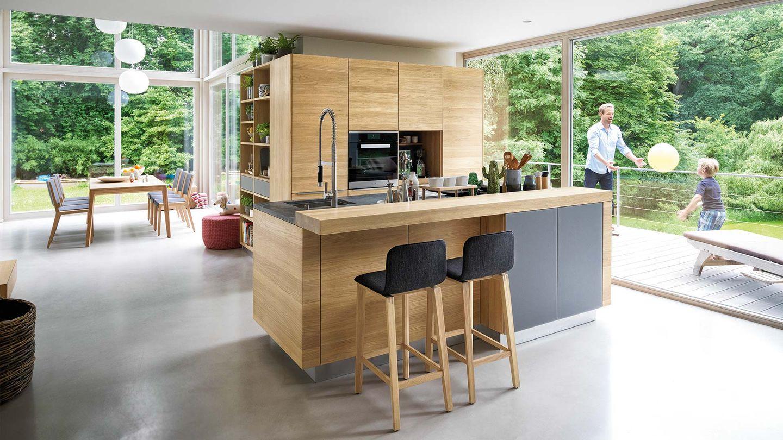 Cucina linee di TEAM 7 del designer Sebastian Desch