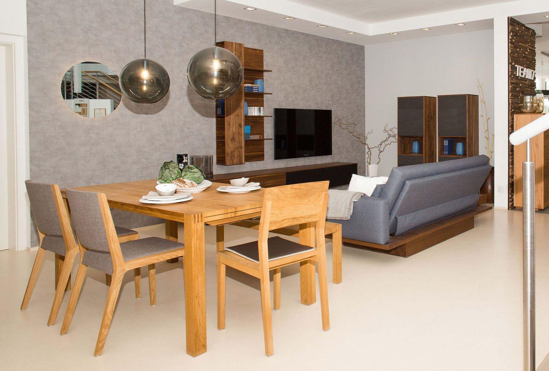 loft Tisch mit s1 und eviva Stühlen TEAM 7 Salzburg
