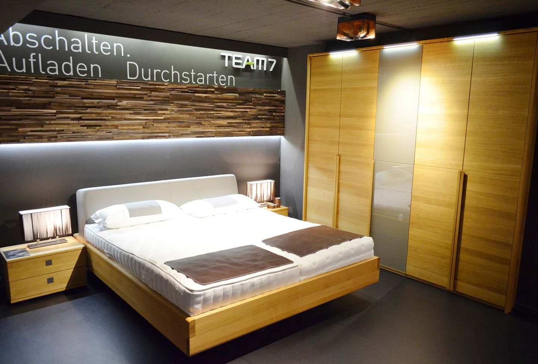 Matratzen und das aos Schlafsystem bei TEAM 7 München