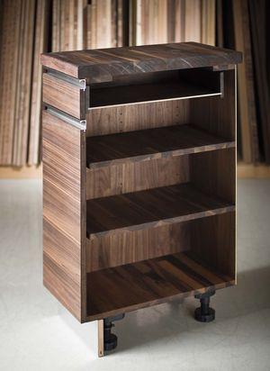 Modulo in legno massello cucina linee