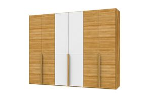 lunetto wardrobe with hinged doors