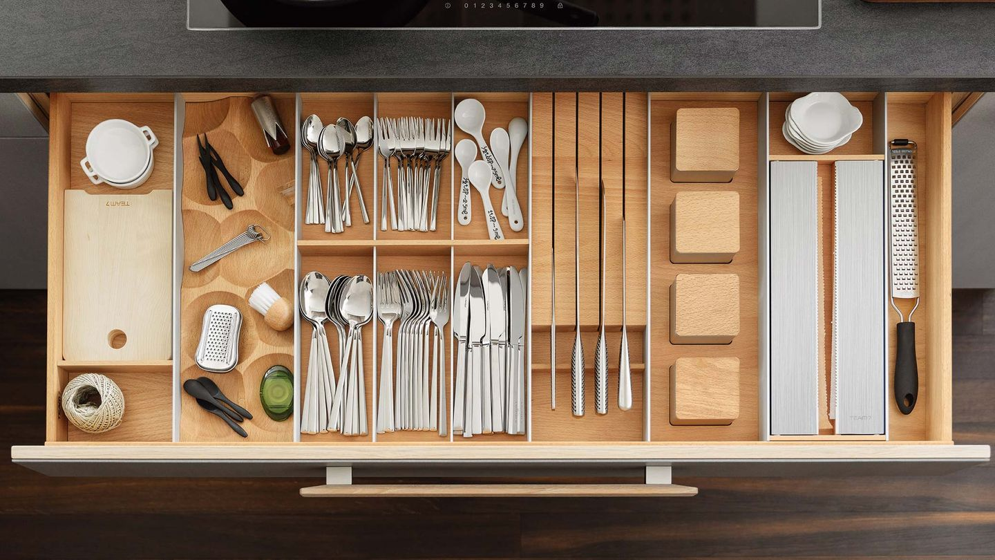 cera line kitchen drawer organisation
