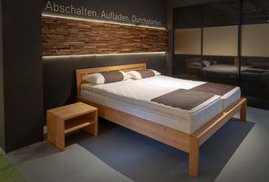 Mattresses at TEAM 7 Hamburg City and the aos sleeping system