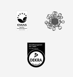 Labels de qualité qui certifient la fabrication écologique des meubles en bois naturel de TEAM 7