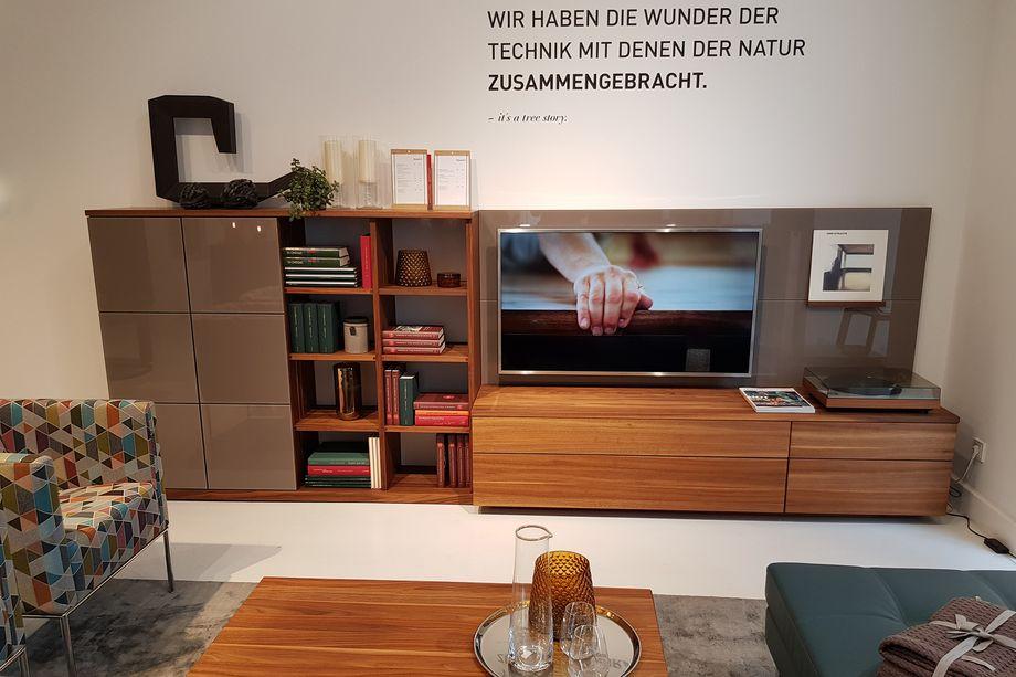 Abverkauf Reduzierter Team 7 Wohnzimmermobel Team 7 Store Hamburg