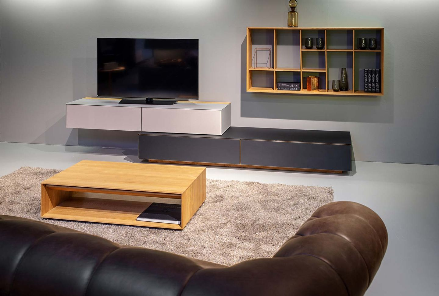 cubus pure wall unit TEAM 7 Hamburg City