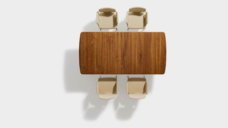 Table de salle à manger flaye en bois massif