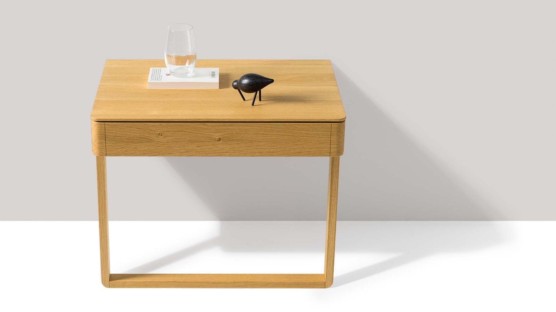 Comodini float di TEAM 7 del designer Kai Stania