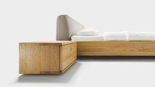 nox bedside cabinet in oak