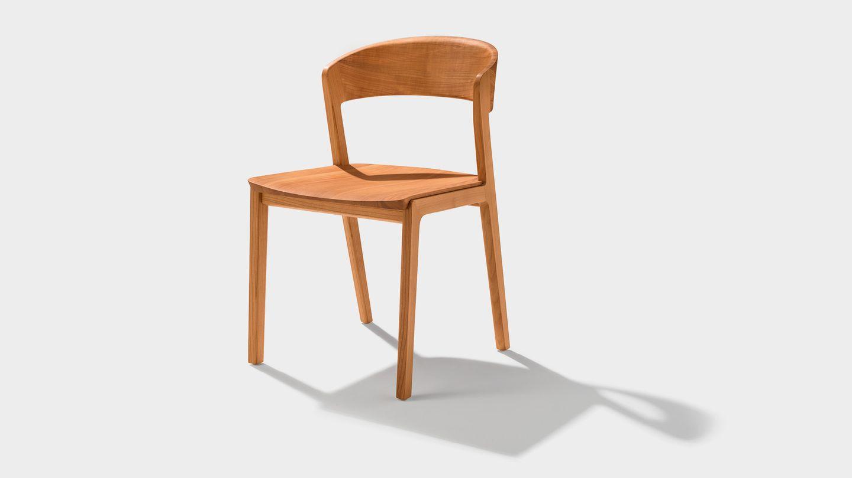 mylon wooden chair in cherry