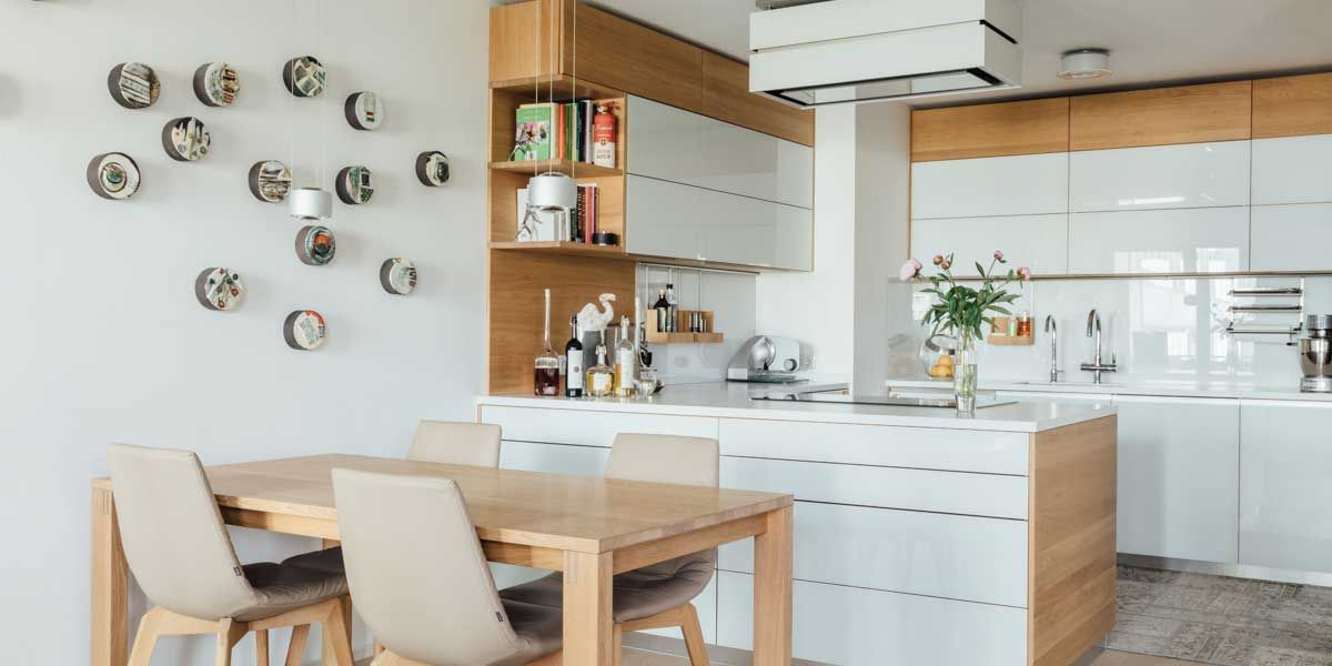 linee Küche in U-Form von TEAM 7 Wels