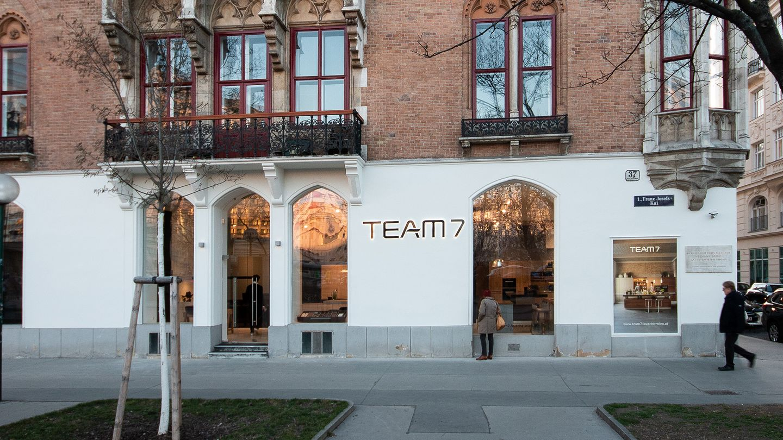 Küche Wien Store Aussen