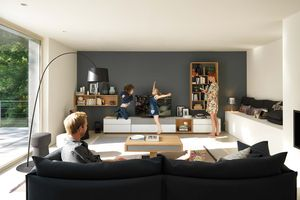 TEAM 7 cubus pure wall unit in light wood