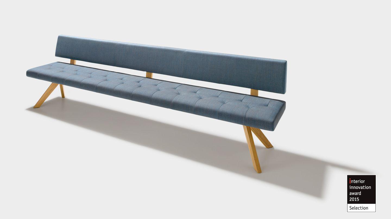 Design award for the TEAM 7 yps bench - interior innovation award 2015