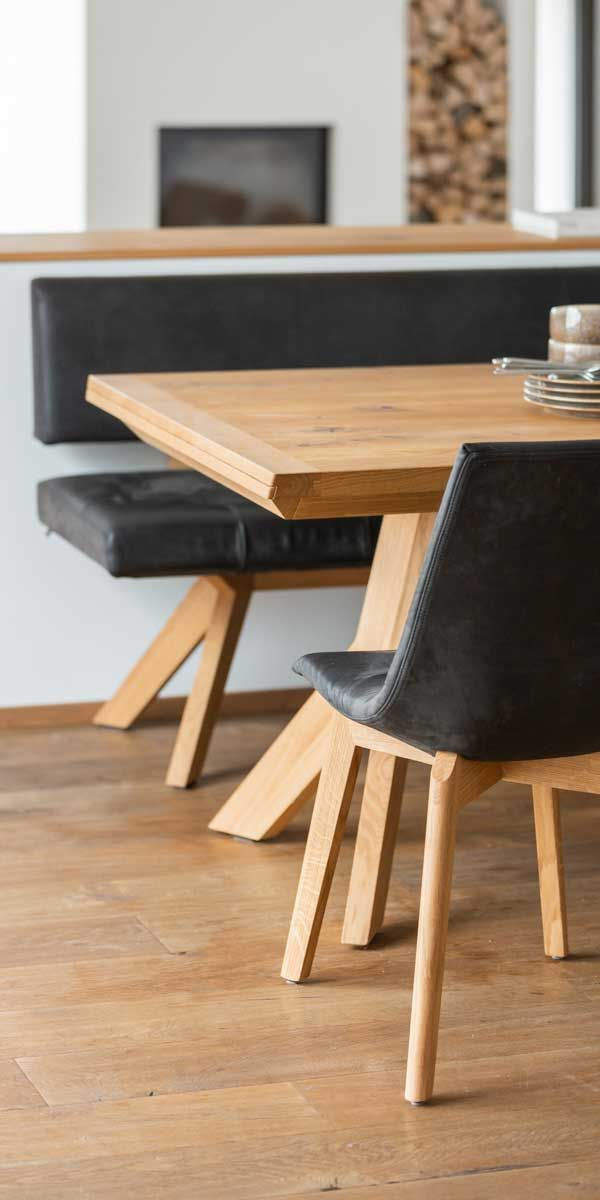 yps Tisch und Bank mit lui Stuhl von TEAM 7 Düsseldorf