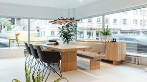 tema Tisch in Eiche im TEAM 7 Store Linz