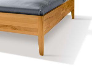 Bett sesam aus Naturholz