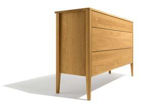 raccords d'angles du meuble d'appoint mylon en bois massif