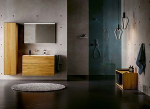 Bathroom lignatur in oak