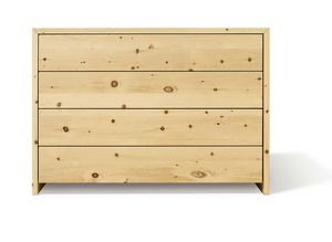 lunetto sideboard in swiss pine not oiled for the bedroom