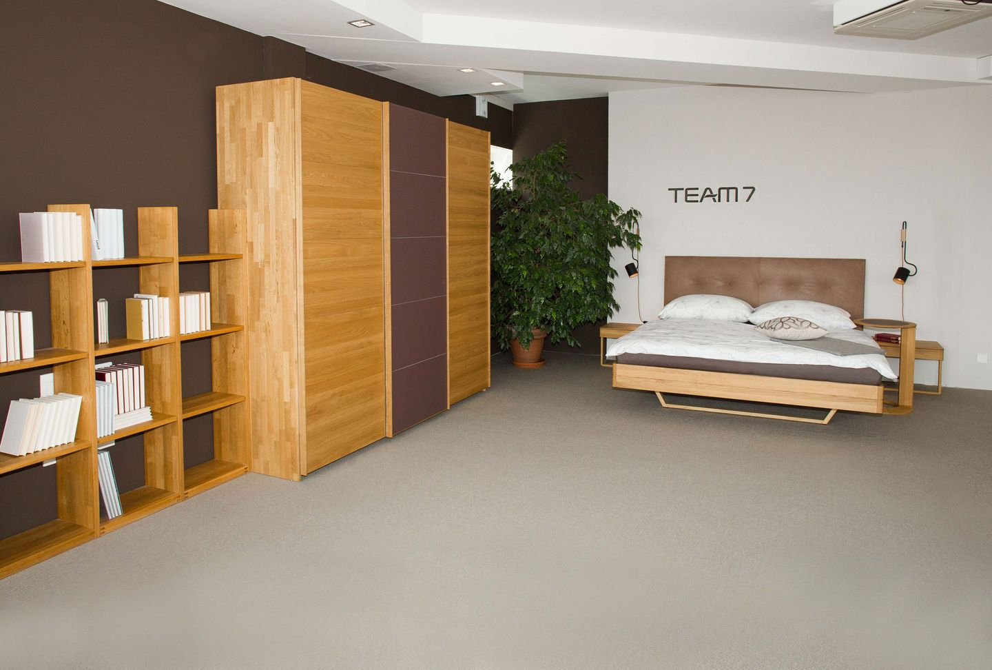 float bed oak TEAM 7 Salzburg