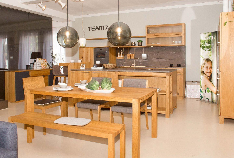 Esszimmergruppe mit loft Tisch TEAM 7 Salzburg