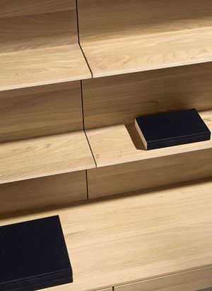 12 mm thin wall shelves filigno thanks to the -3-layer technology