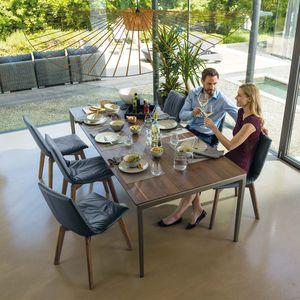 Esszimmerstuhl lui mit tak Tisch in Nussbaum