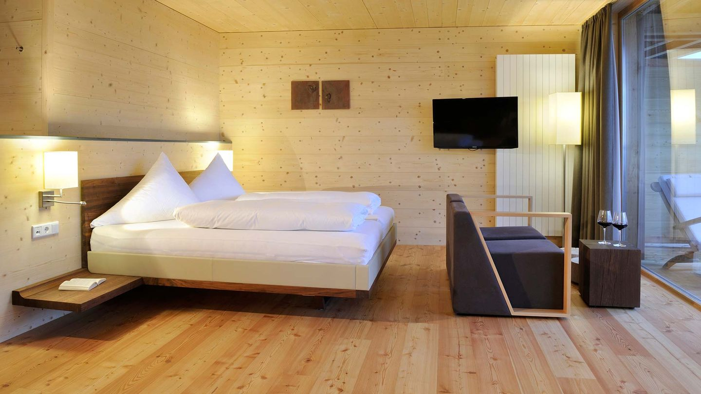 TEAM 7 riletto bed in Hotel Forsthofalm