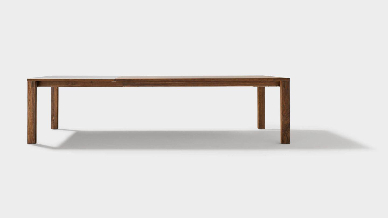 Table de salle à manger extensible en bois massif magnum