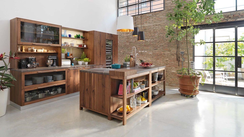 Cucina loft di TEAM 7 del designer Sebastian Desch