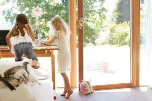 Schreibtisch und Drehstuhl mobile für Kinder