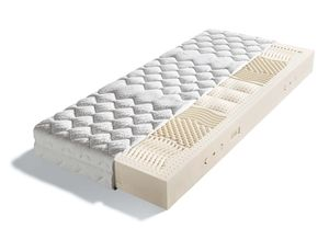 Classic mattress with ergonomic lying comfort