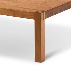 loft coffee table in beech heartwood