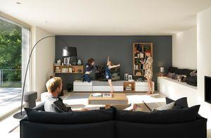 Design Wohnwand cubus pure von TEAM 7