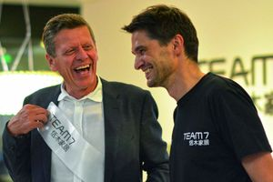 Georg Emprechtinger at the opening of the TEAM 7 Store in Shanghai